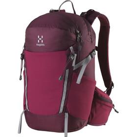 Haglöfs Spiri 23 Plecak czerwony/fioletowy
